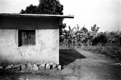 Une maison de l'umugudu de Ndera. Le Rwanda fait partie des dix pays les plus pauvre au monde. L'accès au minimum vital est encore un problème.