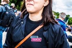"""1er juillet 2017, Paris (75), FRANCE. Benoit Hamon lance le """"mouvement du 1er juillet"""" à Paris, pelouse de Reuilly. Il acte sa rupture d'avec le parti socialiste."""