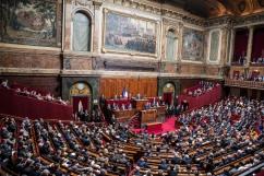 3 juillet 2017, Versailles (78), FRANCE. Emmanuel Macron, président de la République, a réuni le congrès pour s'adresser aux parlementaires dès le début de son mandat .