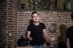 23 septembre 2016, Lille (59), FRANCE. Raphaël est un militant de Génération Identitaire. Il est ici au sein de La Citadelle à Lille. Il a 18 ans. Il exerce la profession de jardinier.