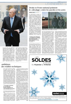 Le Figaro - 11 janvier 2018