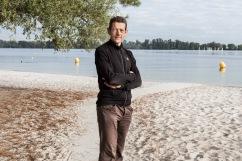 Christophe Bassons, ancien coureur cycliste engagé dans la lutte antidopage