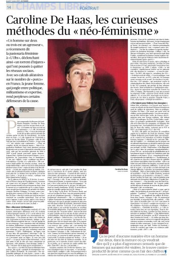 Le Figaro, 1er mars 2018