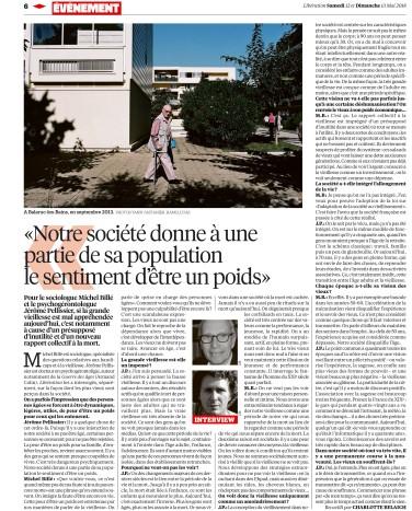 Libération, 12 mai 2018