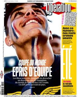 Libération, 14 juillet 2018