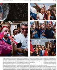 Libération, 16 juillet 2018