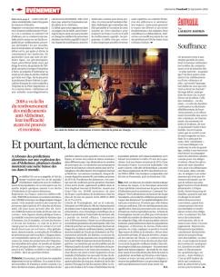 Libération, 21 septmebre 2018