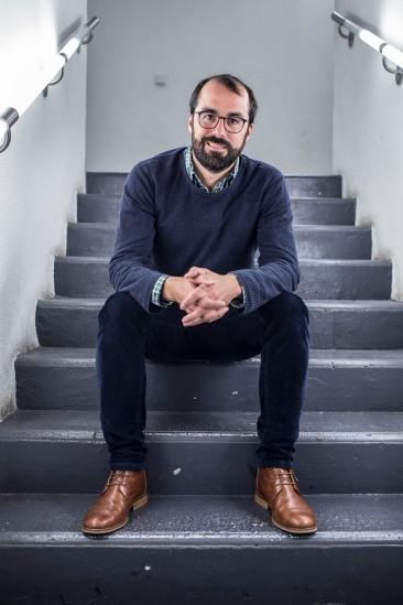 Pierre-Emmanuel Grange, fondateur de microDON