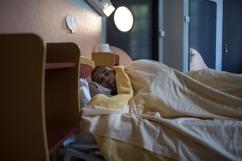 14 mai 2019. Jérôme s'endort dans sa chambre d'hôpital. Il est à peine 19h30. Les médicaments du soir ont tendance à le faire dormir.