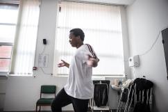 27 février 2019. Loïc estt maintenant en polyclinique. Il a aussi été admis à l'hôpital de jour pour faire des activités. L'après-midi, il y a atelier danse.