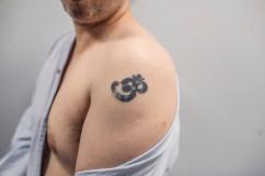 11 janvier 2019. Thomas montre son tatouage.