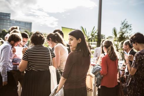 """5 juillet 2017, Paris (75), FRANCE. Convergences et ACTED lance la global alliance à l'occasion de la soirée """"3 zéros"""" sur une péniche à Paris."""