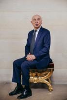 20 mai 2020, Paris, (75), FRANCE. Portrait de Claude Malhuret, senateur de l Allier et president du groupe LIRT au Senat, ancien president de Medecins Sans Frontieres de 1978 a 1986 et ancien secretaire d Etat au droit de l homme.