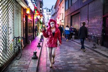 18 mai 2018, Paris (75), FRANCE. Soirée drag queens organisée par Fabien Lesage au Street Art.