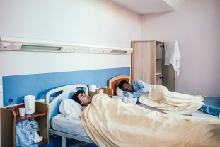 FRANCE - ONE YEAR IN PSYCHIATRIC HOSPITAL SAINTE ANNE IN PARIS